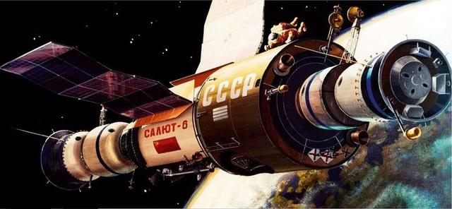 40ème anniversaire station spatiale Saliout 6 Saliou10