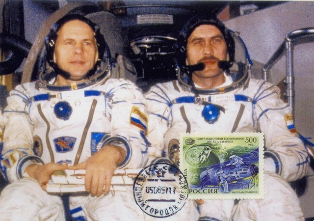 5 août 1997 - Mission Soyouz TM-26 / 20ème anniversaire Soyouz11