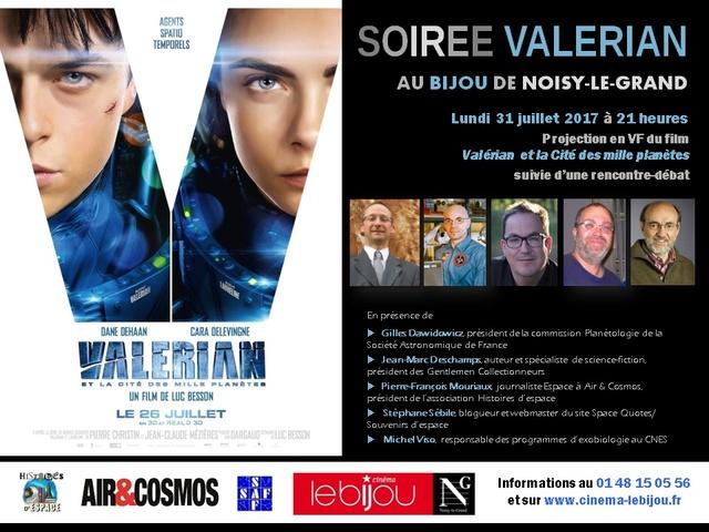 [Rencontre Ciné-débat] Valérian et la Cité des mille planètes - 31 juillet 2017 au Bijou à Noisy-le-Grand Valeri10