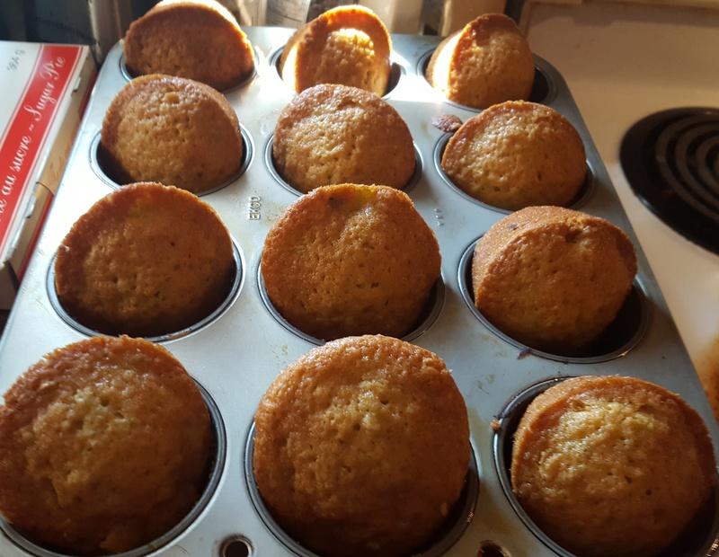 Muffins aux tomates vertes  20170911
