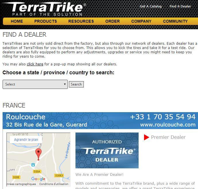 "Trike Rambler EVO (moteur ""5 phases"") A19"