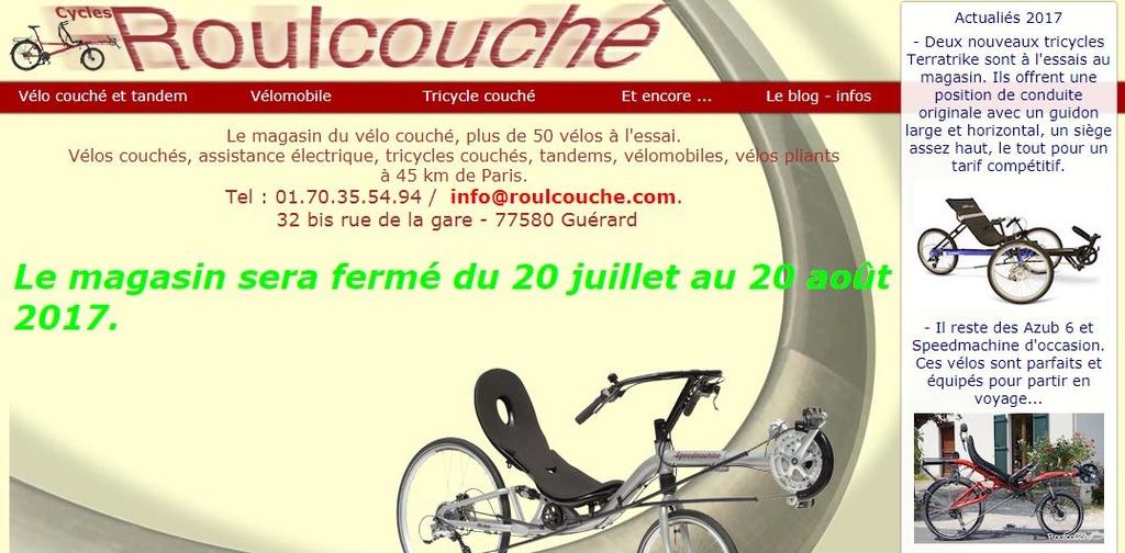 "Trike Rambler EVO (moteur ""5 phases"") A21"