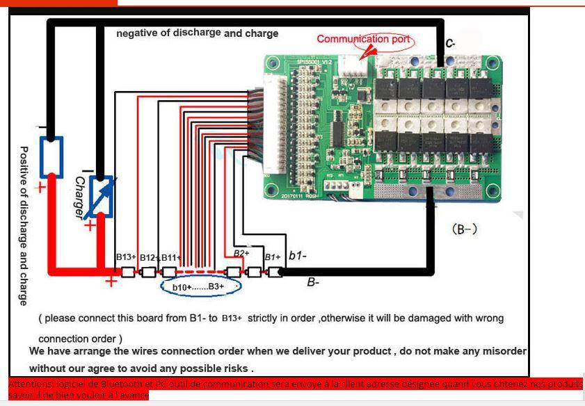 BMS et Depannage ou maintenance de pack de batterie  A312