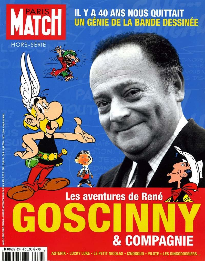 Paris-Match - Les aventures de René Goscinny... - 09/17 Asteri37
