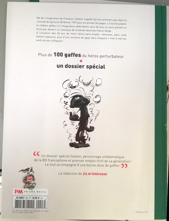 Hors-série n°5 L'express: l'art d'Astérix - octobre 2017 Gaston11