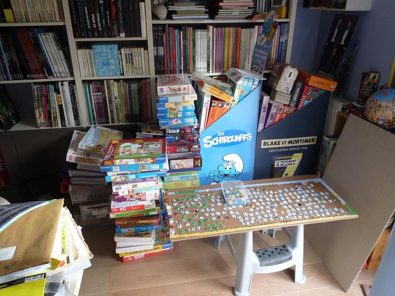 Collection de PuzzlesBD P1100713
