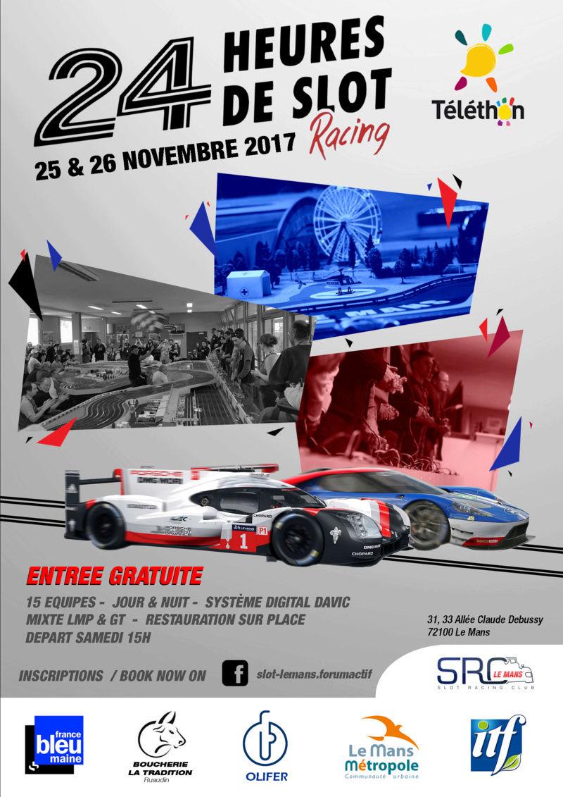 Les 24 heures (Davic) du Mans ... au Mans Affich10