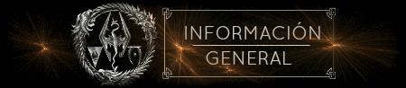 Información general.