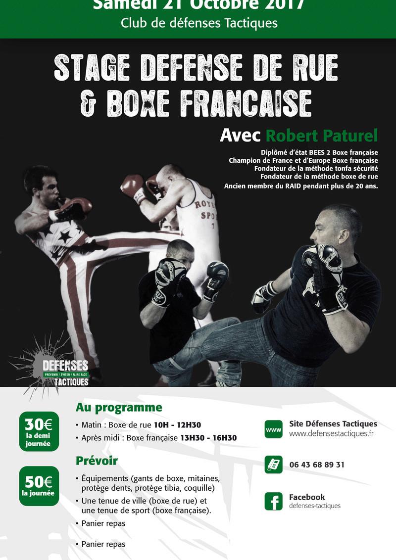 Stage boxe de rue et boxe française defenses tactiques Getfil10
