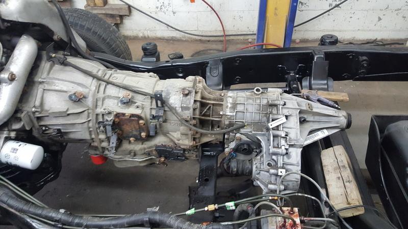 Duramax et transmission Allison dans un Hummer H2  20170111