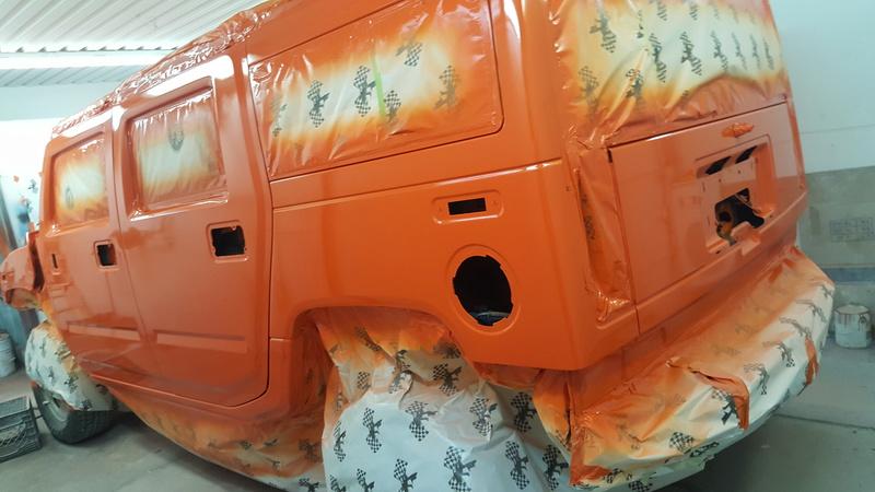Duramax et transmission Allison dans un Hummer H2  20170410