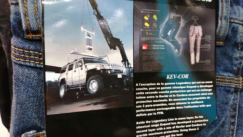 Le Hummer c'est du solide ! Lisez ca ! ilssuspendent un 4x4 Hummer® à un jean ! 21616010