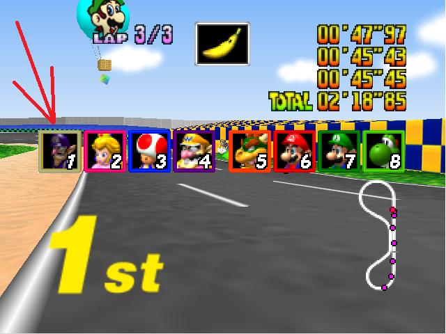 [N64] Mario Kart 64, études et TP - Page 3 111