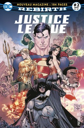 Justice League Rebirth 2 juillet 2017 Justic11
