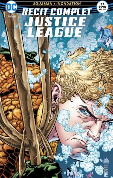 Recit complet Justice League rebirth 3 Aquaman Recit-12