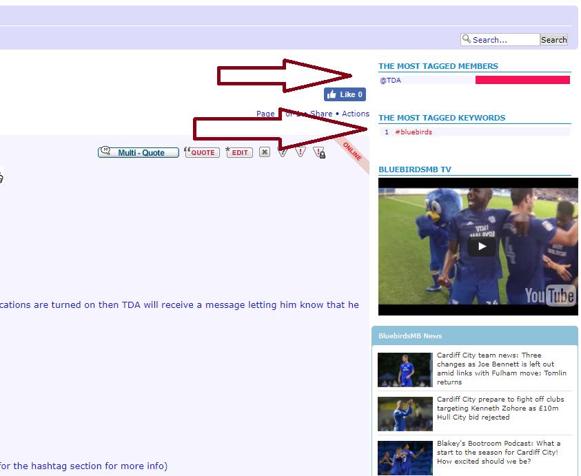 monkeypimp - New forum features: Username tagging & hastags Captur14