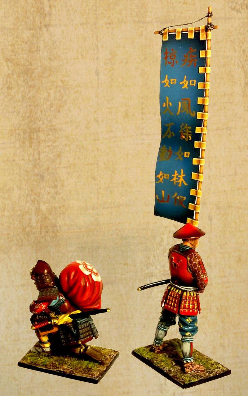 Samourais du clan Oda - Sengoku Jidai - Bataille d'Okehazama - 1560 First_11