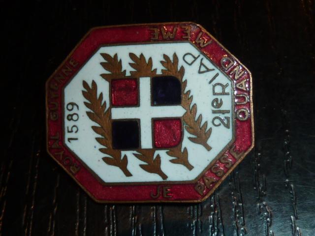 Ordres, médailles, insignes, Ritterkreuzträger, Naginatas, 17ème Hussard de Braunschweig, Mein Kampf, Fahrtenmesser HJ, croix de fer, insignes régimentaires...... P1530328
