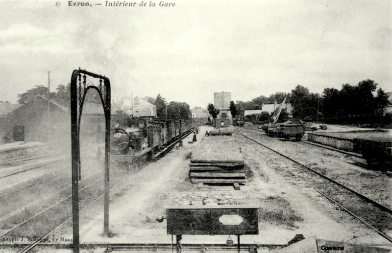 Gare d'Évron (PK 269,4) 13891610
