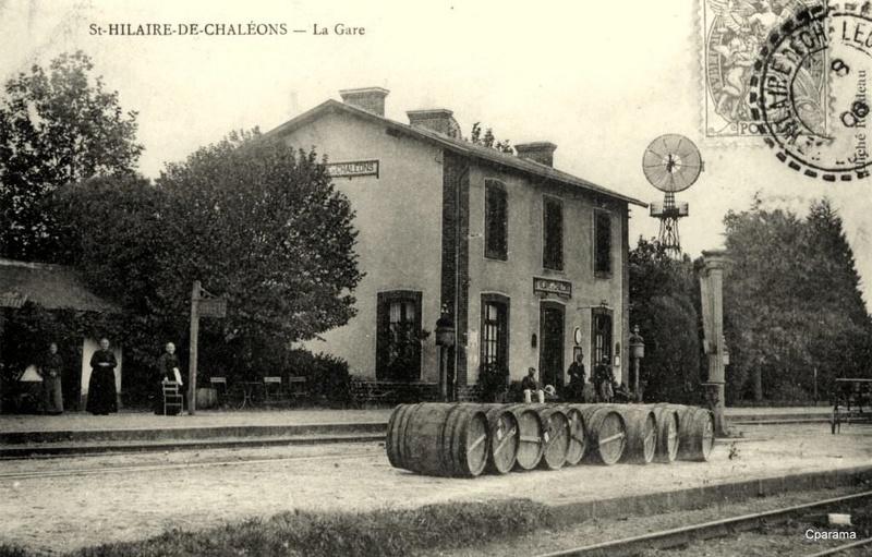 Gare de Saint-Hilaire-de-Chaléons (PK 4,2) 13928210