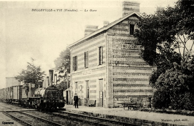 Gare de Belleville (Vendée) - (PK 63) 13942510