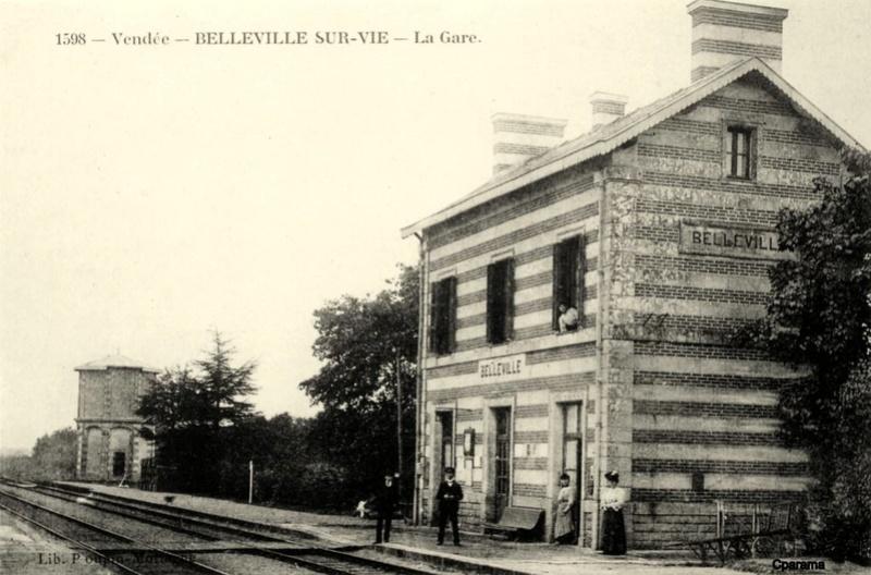 Gare de Belleville (Vendée) - (PK 63) 13942511