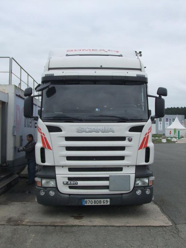 Parcs transporteurs routiers Bomex10