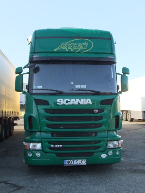 Parcs transporteurs routiers Sa150810