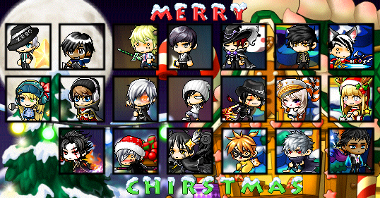 Christmas Group Picture~ [Finished! Picture Posted.] 2ch86l11