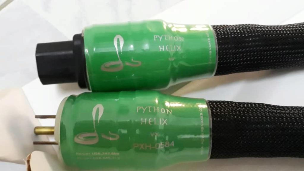 Shunyata Research Phyton Helix VX Power Cord Img-2010