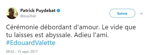Décès d'Edouard Valette Sans_t49