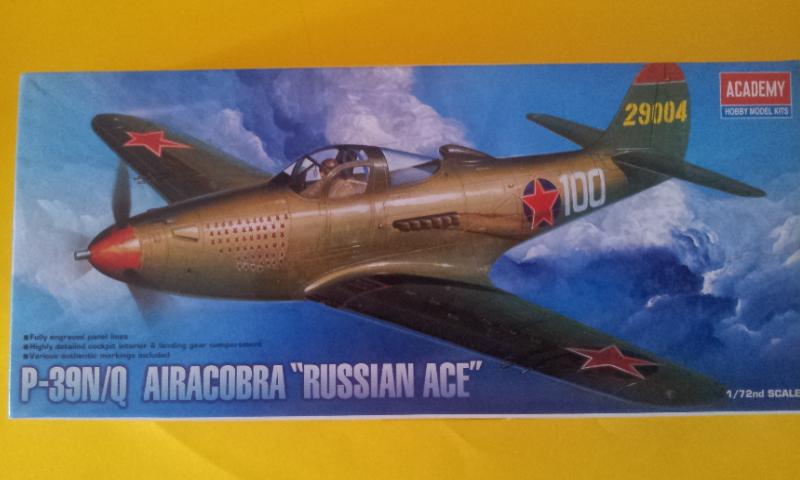 [Academy] P39 N-Q Airacobra Russian-Ace 2016-125