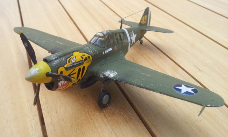 [Academy]P-40E Warhawk 2017-011