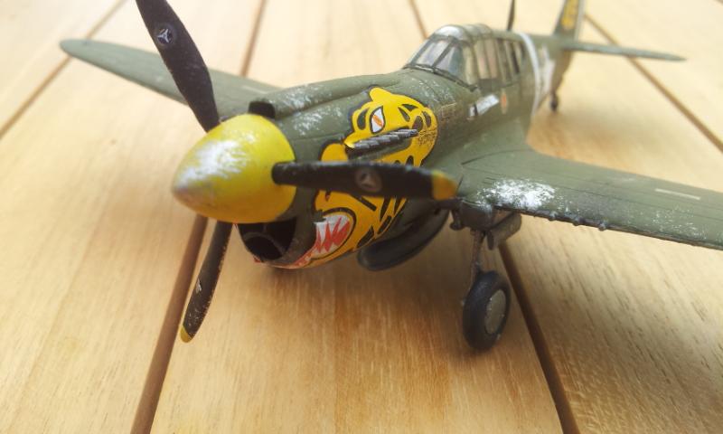 [Academy]P-40E Warhawk 2017-013