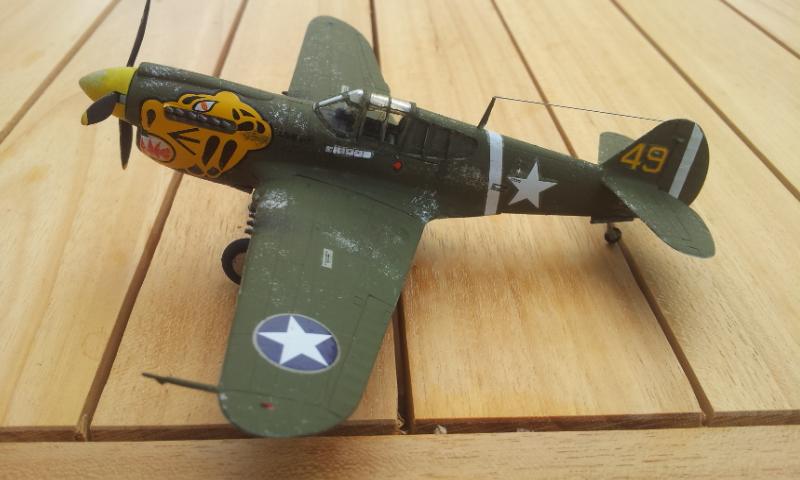 [Academy]P-40E Warhawk 2017-014