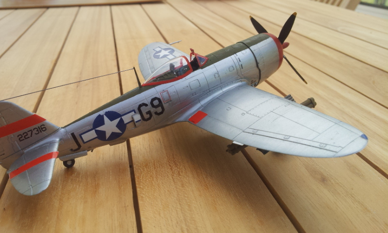 [Academy]P-47D Thunderbolt Bubble-Top 2017-022