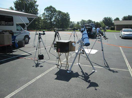 Eclipse 2017 Photo's Set-up12