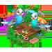Habitat Pour Perruche => Pochoir Perruche Parake15