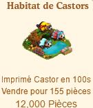 Habitat de Castors => Imprimé Castor Sans_498