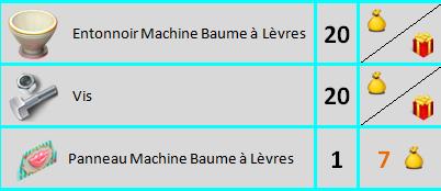 Machine Baume à Lèvres Sans_807
