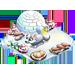 Poulaillers / Poulailler Coloré / Poulailler des Bleus / Poule Football / Poulailler Flocon de Neige => Oeuf Snowfo11