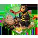 Ruche, Ruche rayée, Super ruche => Miel Sunbea11