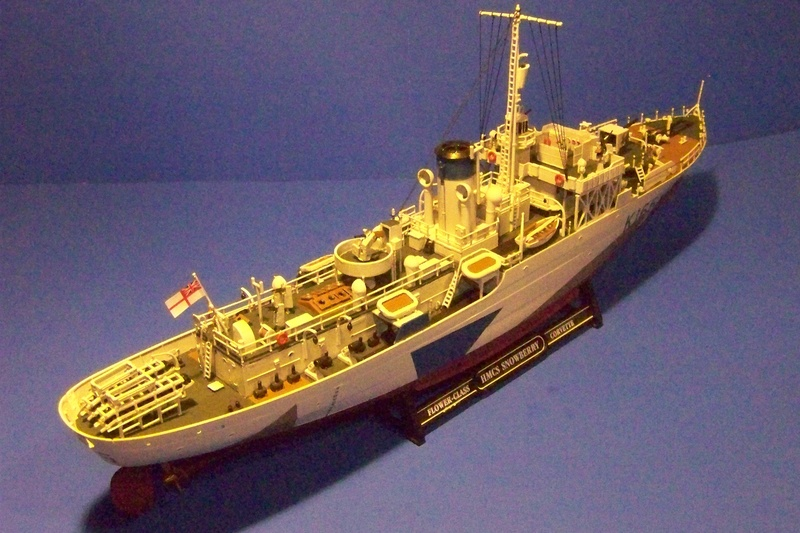 HMCS Snowberry von Revell in 1:144 100_3939