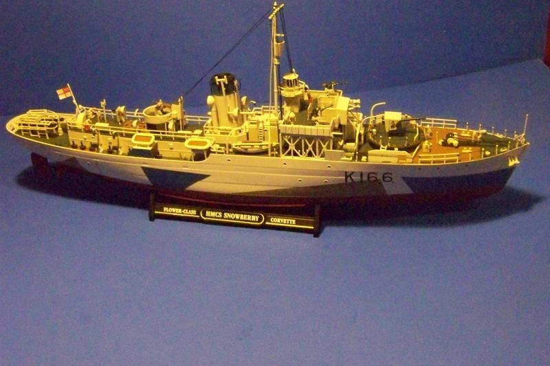 HMCS Snowberry von Revell in 1:144 100_3940