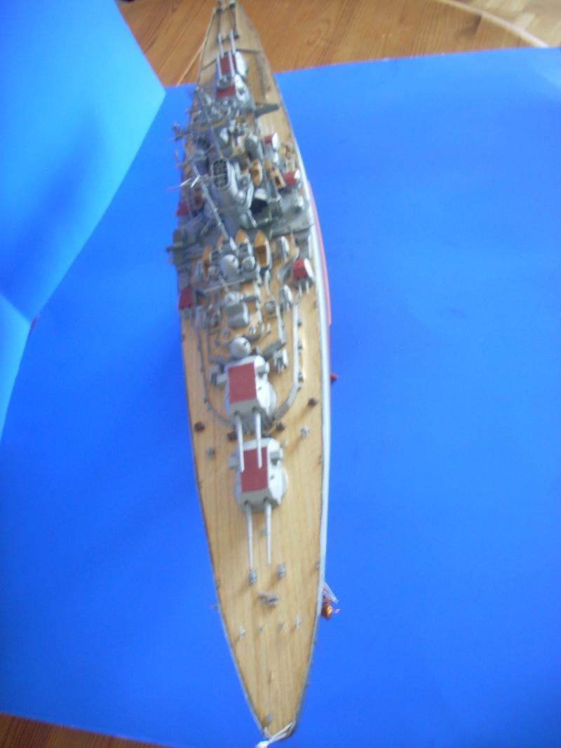 Meine Tirpitz in 1:350 von Tamiya Dscn0019