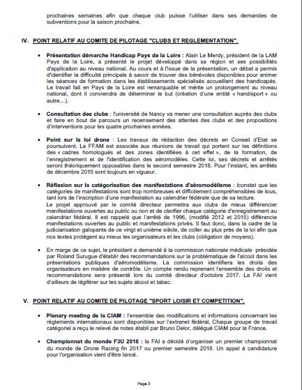 COM de la FFAM sur l'Assurance & Justice Aecapt10