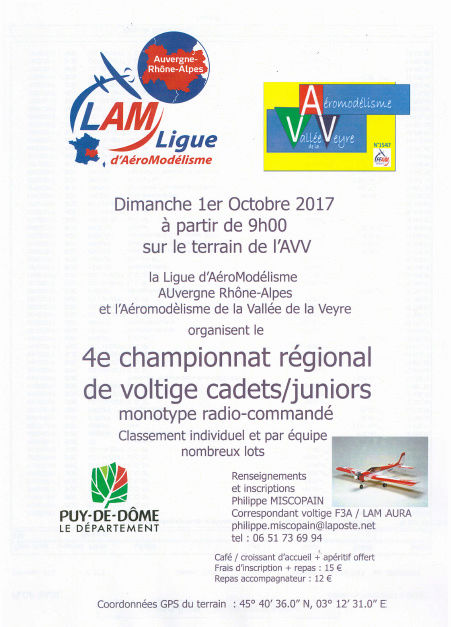 championnat régional Auvergne Rhône-Alpes de voltige Cadets / Juniors: Dimanche 1er Octobre 2017. Captur14