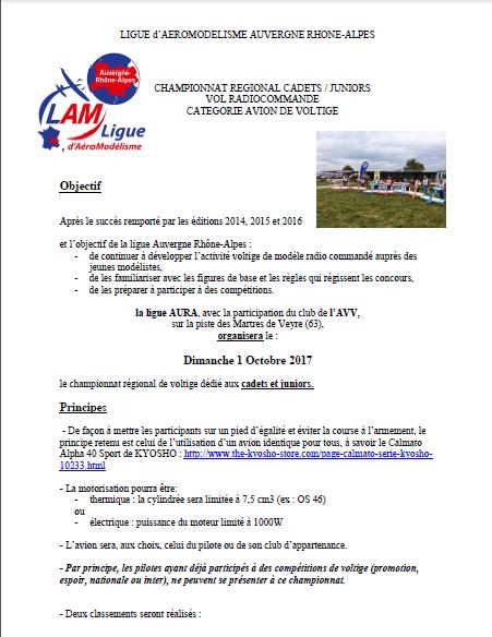 championnat régional Auvergne Rhône-Alpes de voltige Cadets / Juniors: Dimanche 1er Octobre 2017. Captur15