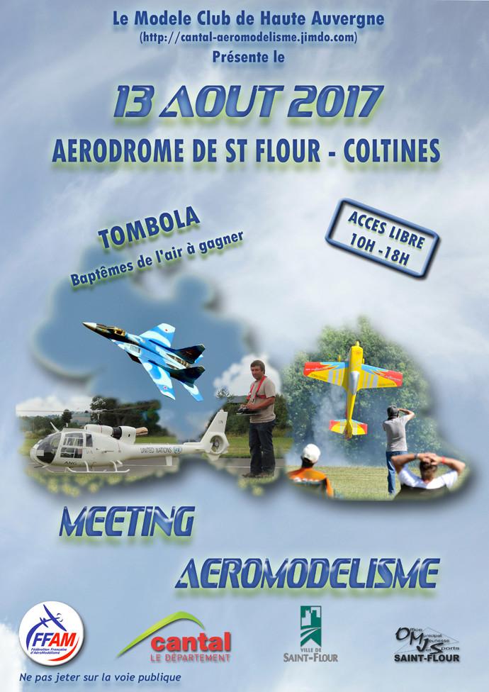 le dimanche 13 Août 2017 sur l'aérodrome de St Flour / Coltines  Maquet10