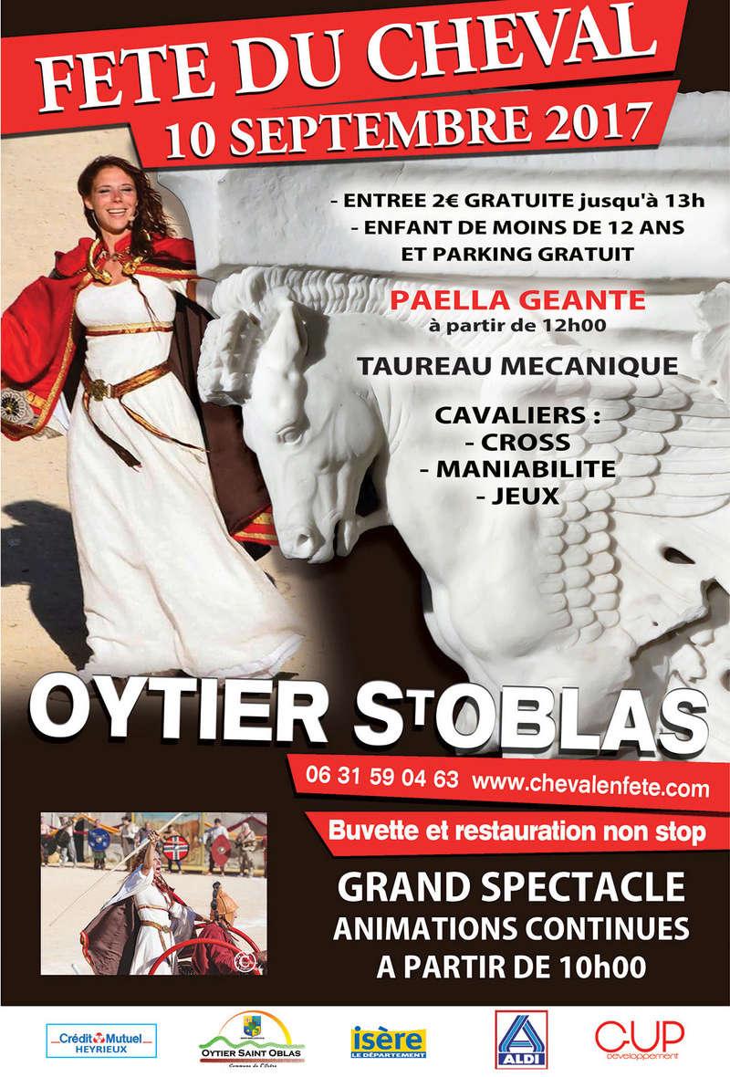 Fete du Cheval 2017 à Oytier Saint Oblas Fete_c11